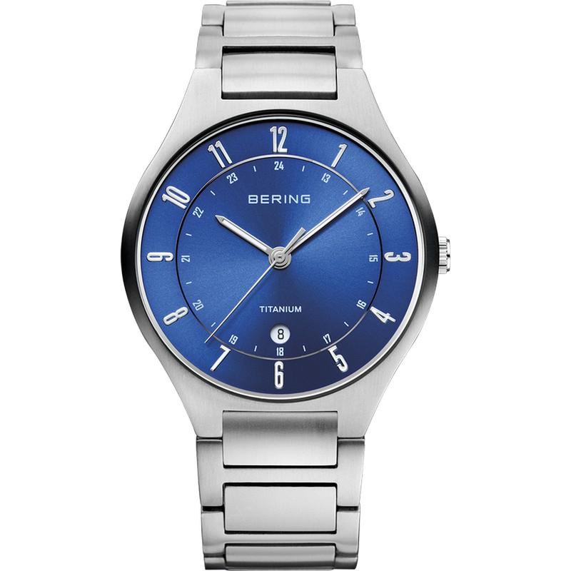 20152f17e Reloj Bering Titanium Plateado Hombre — Trens Joies